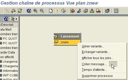 RSPC : Ajouter un message sur un processus