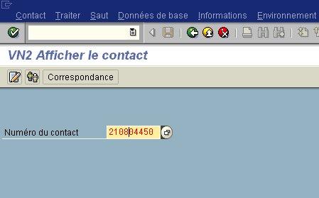 La barre de titre SAP est préfixée par GuiXT
