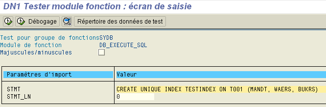 DB_EXECUTE_SQL